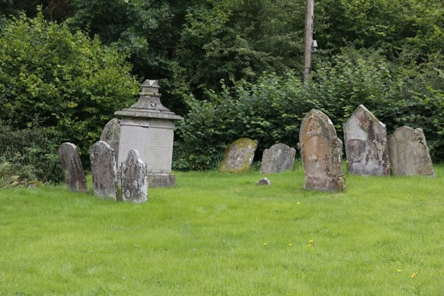 Graves at St Mary
