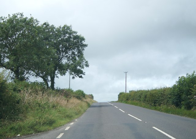 A3072 west of The Beeches