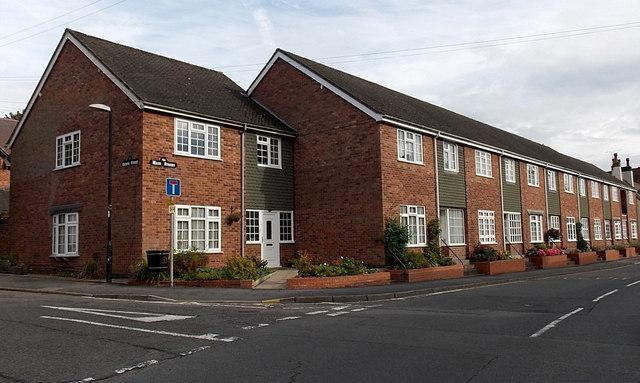 Row of houses, Main Street, Market Bosworth
