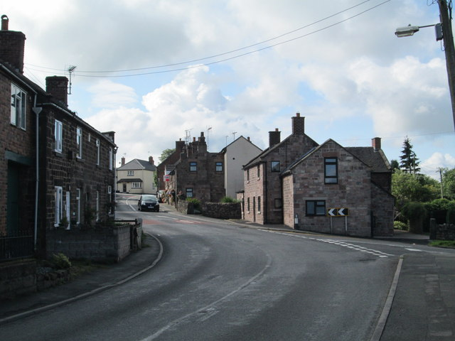 Main Road, Wetley Rocks