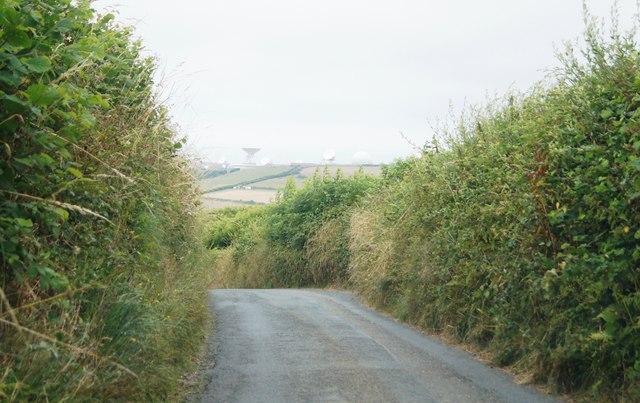 Lane near Stowe Barton