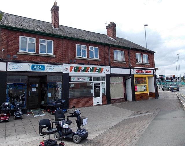 Rutland Mobility shop in Melton Mowbray