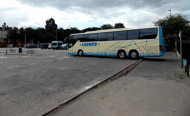 Lodge's coach in Melton Mowbray