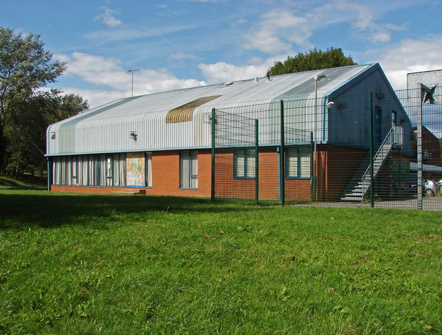 The sports centre, Farnham