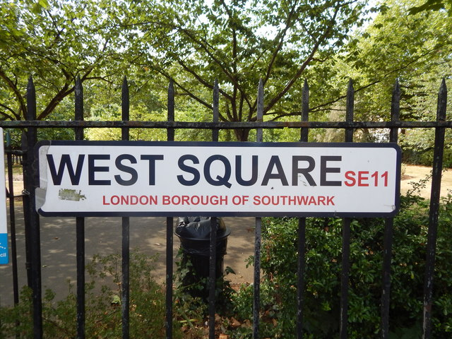 West Square sign