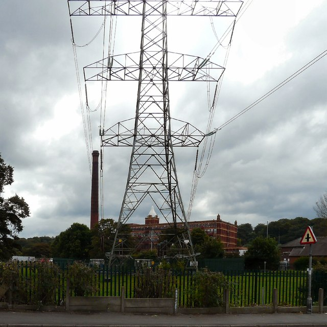 Pear Mill under the Pylon