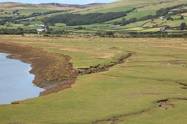 Mere Beck outflow into the Duddon Estuary