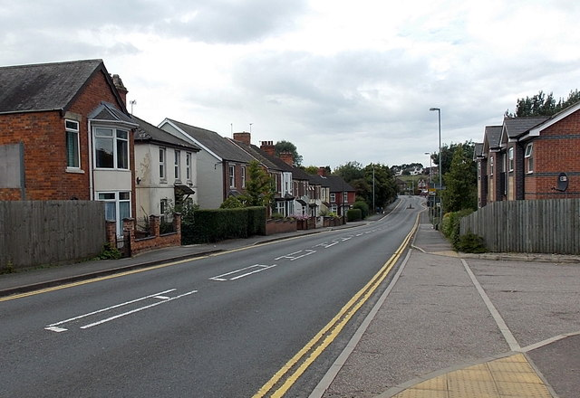 West along Asfordby Road, Melton Mowbray
