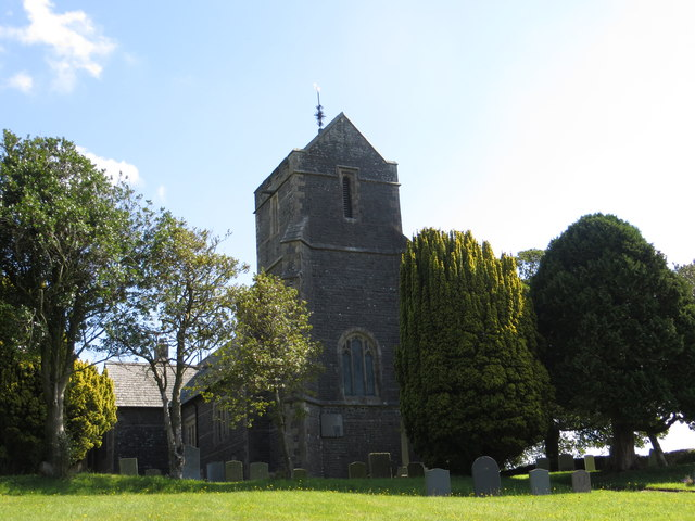 The Church of St Peter at Mansergh