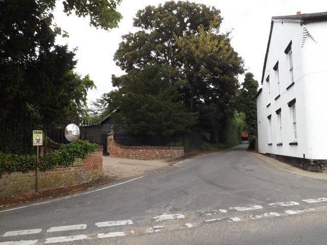 Hadleigh Road, Higham
