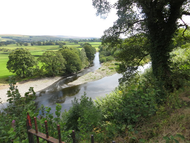 River Lune from designated viewpoint