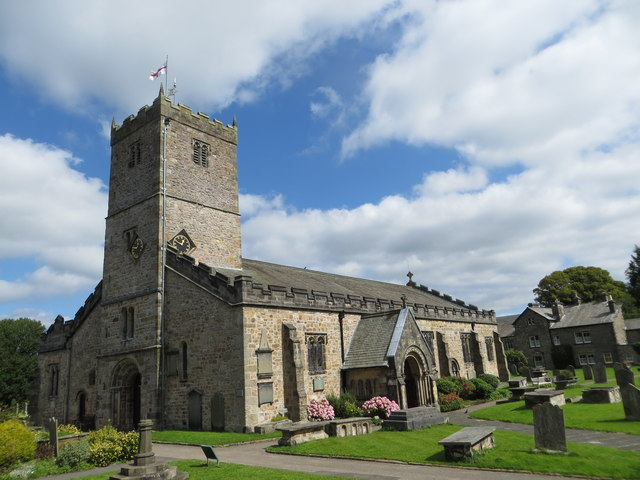 The Church of St mary at Kirkby Lonsdale