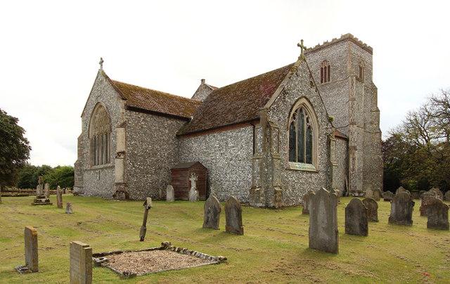 St Mary, Hillington