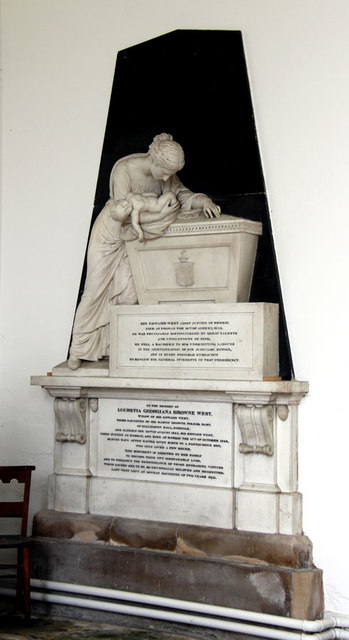 St Mary, Hillington - Monument