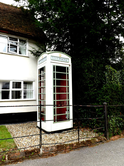 White Telephone Box