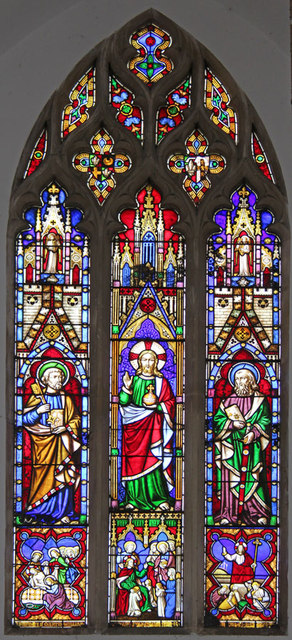 St Mary, Hillington - Stained glass window