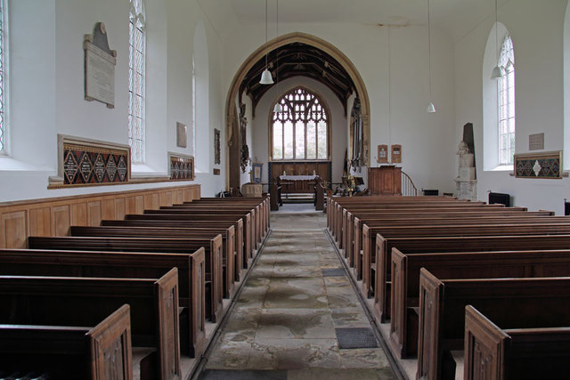 St Mary, Hillington - East end