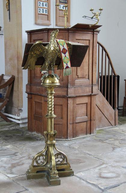 St Mary, Hillington - Pulpit