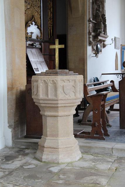 St Mary, Hillington - Font