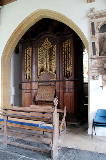 St Mary, Hillington - Organ