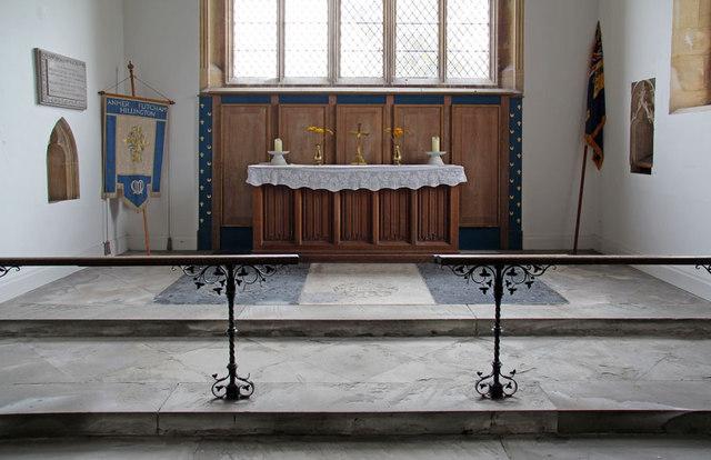 St Mary, Hillington - Sanctuary