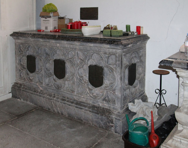 St Mary, Hillington - Tomb chest