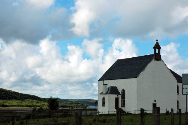 Church at Kensaleyre, nr Portree, Isle of Skye