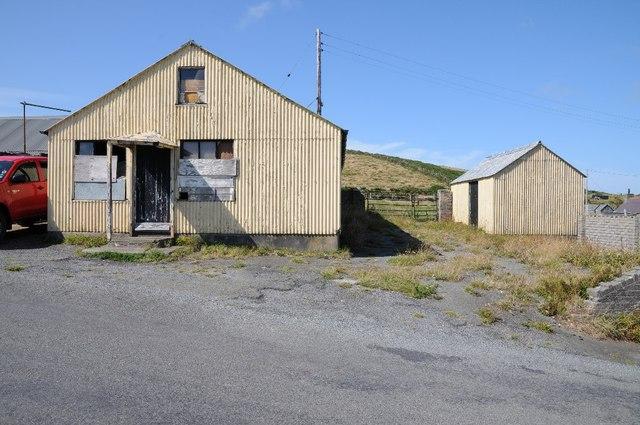Buildings at Uwchmynydd