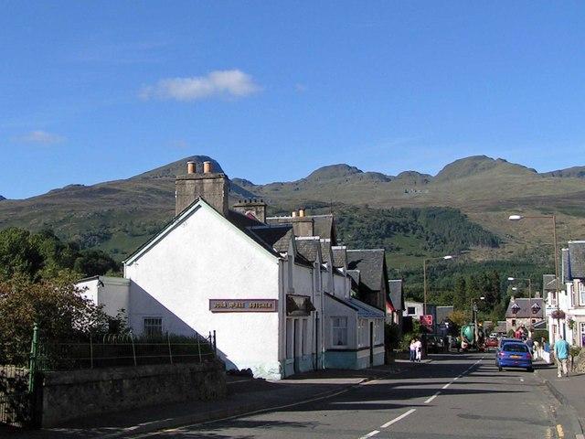 Main Street, Killin, Scotland