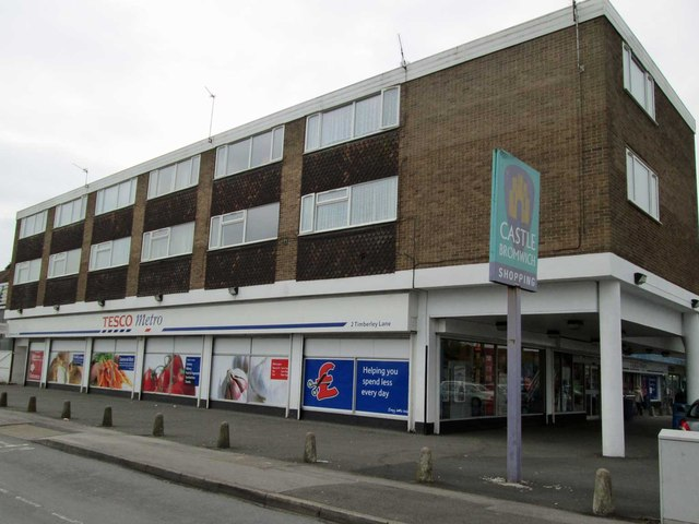 Tesco Metro, junction of Chester Road & Timberley Lane, Castle Bromwich, Birmingham