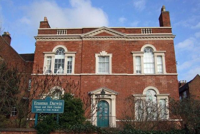 Erasmus Darwin House, Beacon Street, Lichfield