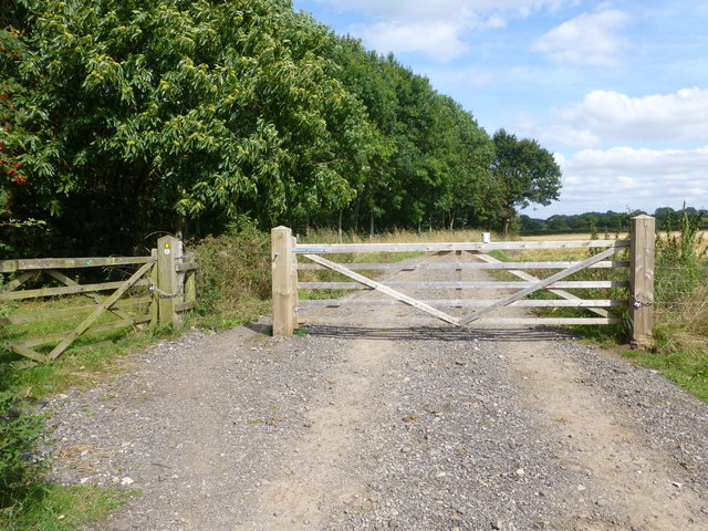 Delamere Way leads off the end of Goose Lane