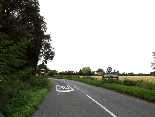 Entering Stoke By Nayland
