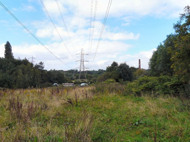 Power lines towards Brinnington
