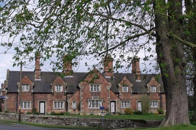Misses Moores' Almshouses, Mawbys Lane, Appleby Magna