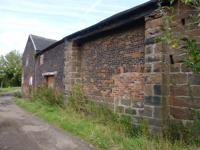 Brick and stone at Bellfield Farm