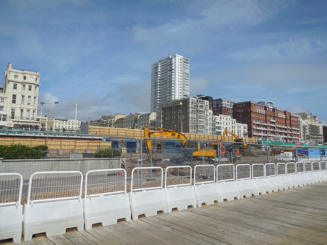 Construction work for I360