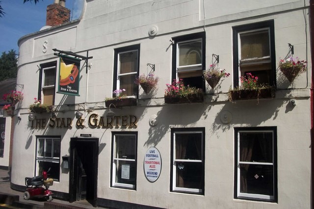 The Star and Garter Pub, Droitwich Spa
