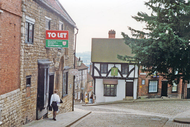 Lincoln: Steep Hill and Michaelgate, 1992