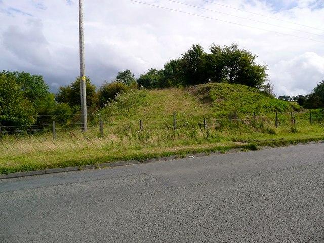 Old railway embankment near Burnton