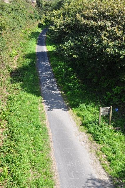 North Devon : Cycle Track & Footpath