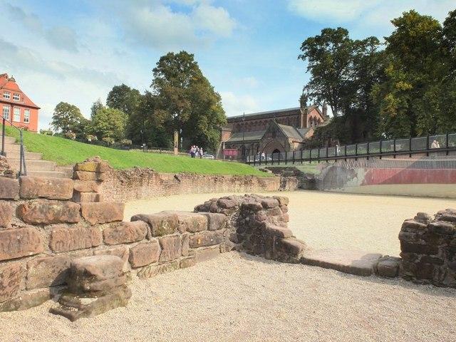 The amphitheatre, Newgate, Chester