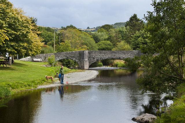 Afon Elwy at Llanfair Talhaiarn