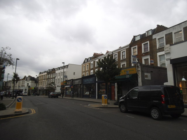 Shops on Brecknock Road, Tufnell Park