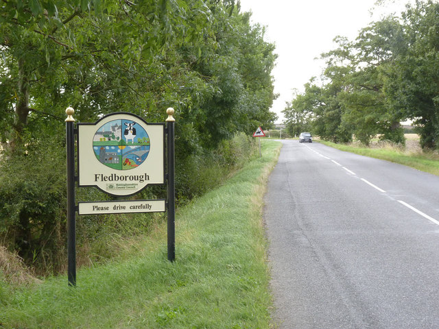 Fledborough village sign