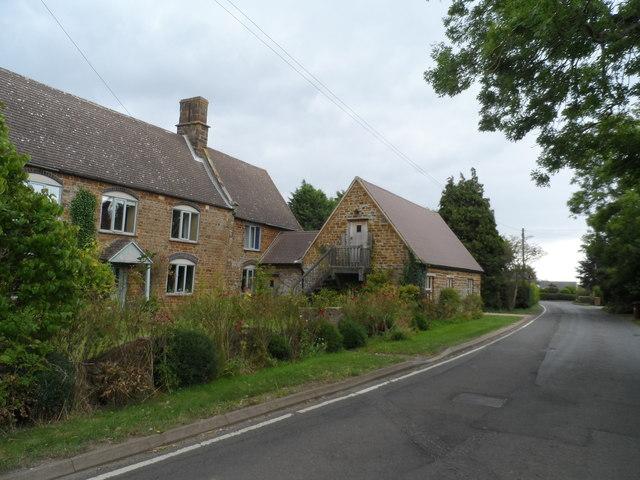 Ironstone buildings, Little Preston