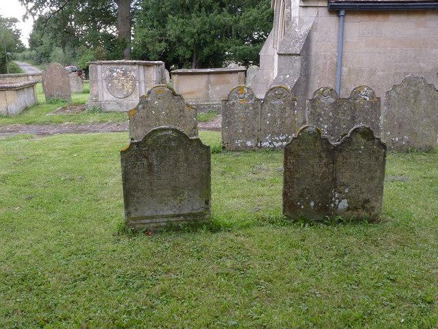 Gravestones, Church of St Gregory, Fledborough
