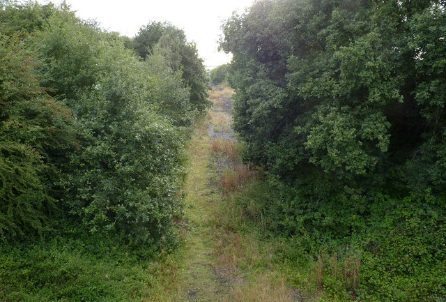 Disused railway line into High Marnham Power Station