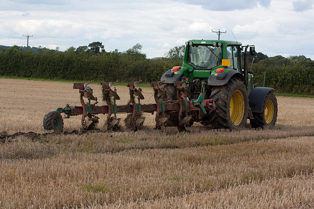 Ploughing the first furrow