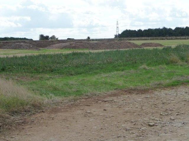 Farmland south-west of Downs Farm